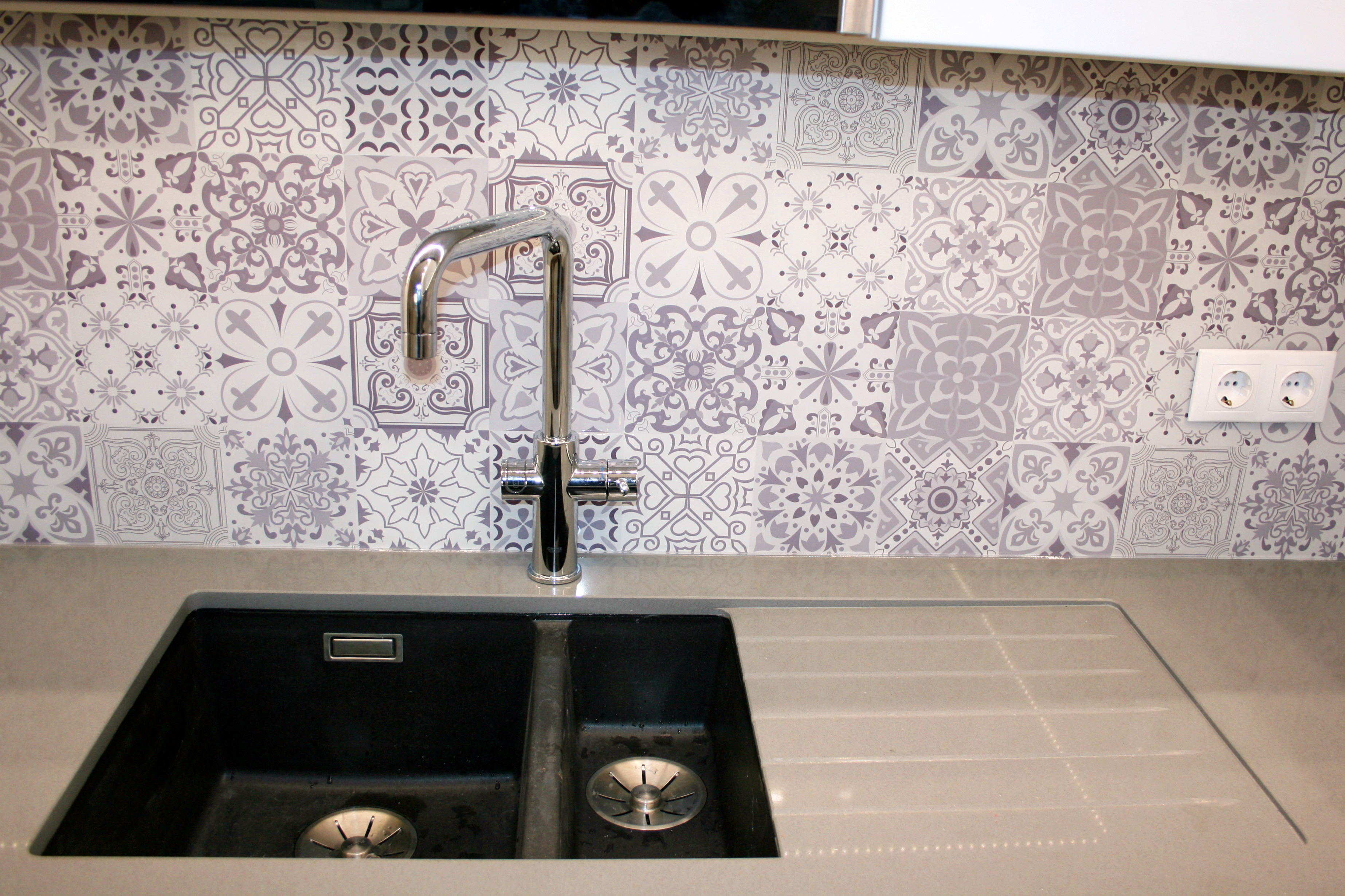 Tökéletes tervezés mosogató toldó profil nélkül