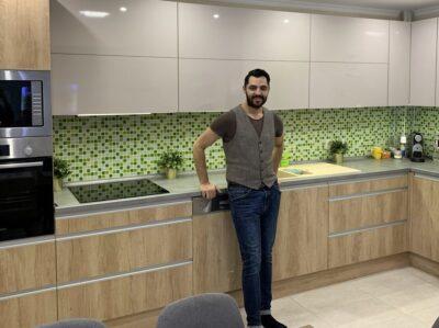 Oláh Gergő új konyhája